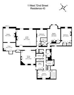 the dakota floor plan lauren bacall s apartment at the dakota central park west