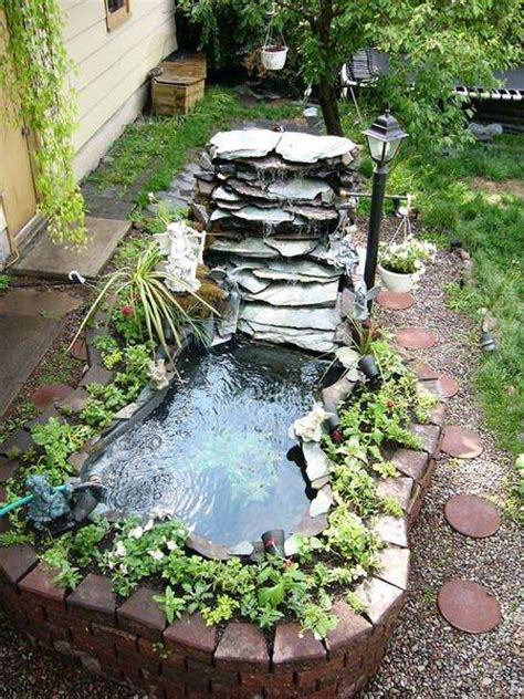 diy garden ponds and waterfalls gardening flowers 101