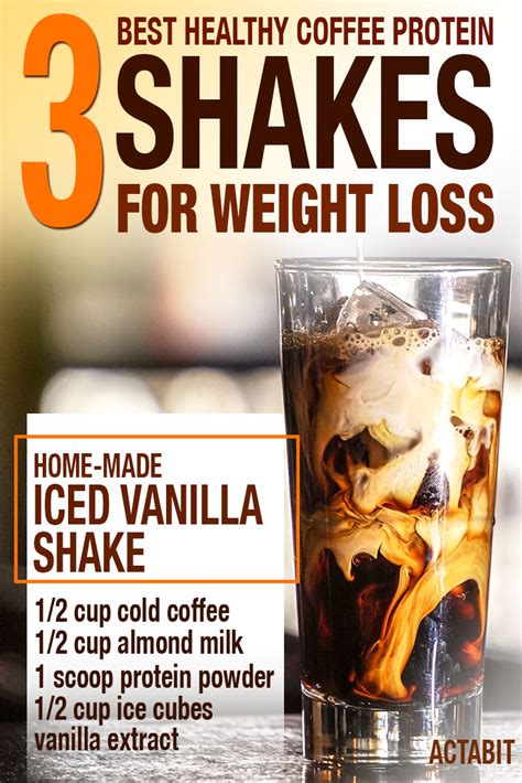 protein for weight loss top 3 coffee protein shake recipes to lose weight