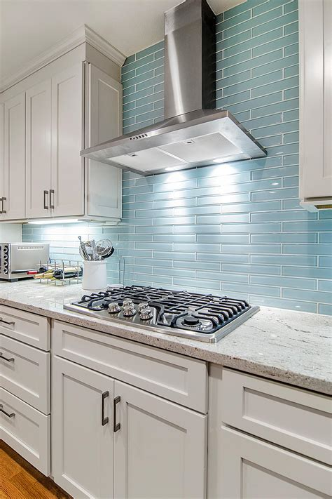 kitchen with glass backsplash photos hgtv