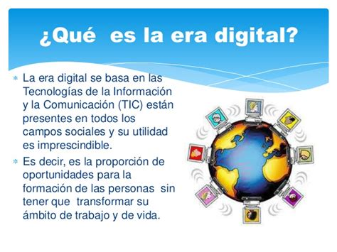 la era digital ense 241 anza aprendizaje en la era digital