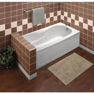 mirolin sydney acrylic skirted whirlpool tub 60 inch x