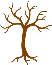 Tree Trunk Template printable brown tree branch template clipart best