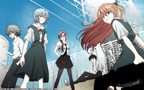 A Anime And by Neon Genesis Evangelion Wallpaper Zerochan Anime Image