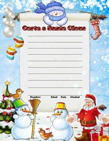 imagenes de santa claus leyendo cartas carta para santa claus recursos gr 225 ficos de navidad 2014