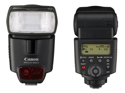 Flash Canon 430 Ex Ii Limited canon announces speedlite 430ex ii flash digital photography review