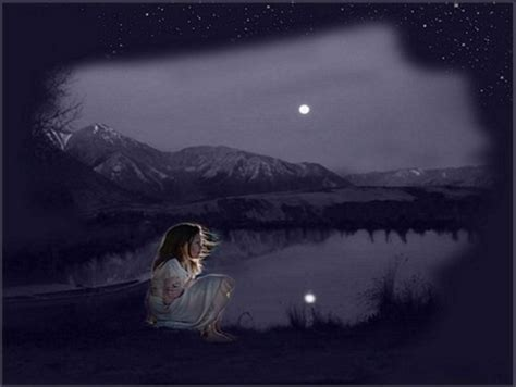 lonely girl at night lonely girl fantasy abstract background wallpapers on