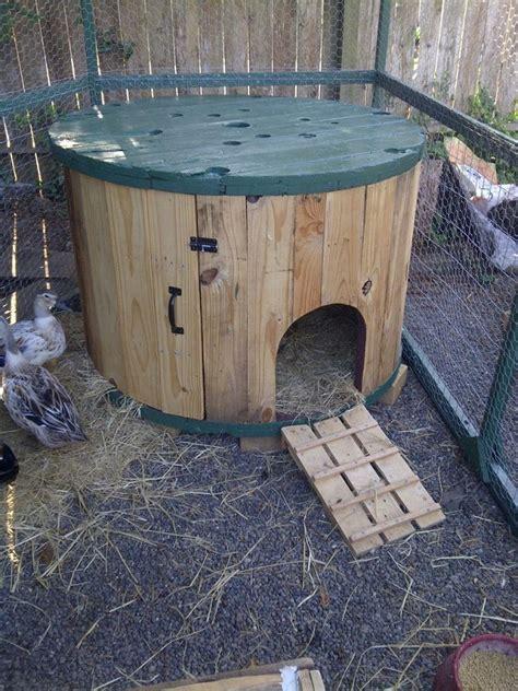 Diy Cable Spool Duck House Home Design Garden Architecture Blog Magazine