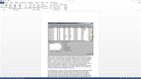 excel tips tutorial how to merge styles and themes of old how to mail merge with microsoft excel and microsoft word