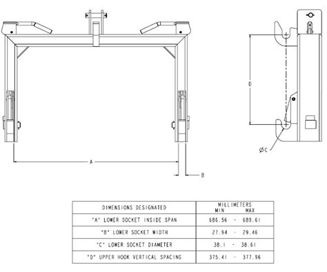 3 point hitch dimensions diagram deere imatch hitch