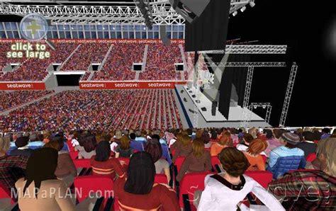 Nec Birmingham Floor Plan by Birmingham Genting Arena Nec Lg Arena Detailed Seat