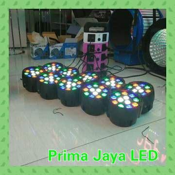 Lu Par Spark Mini 12 X 1 Watt paket mini par 12 led prima jaya led
