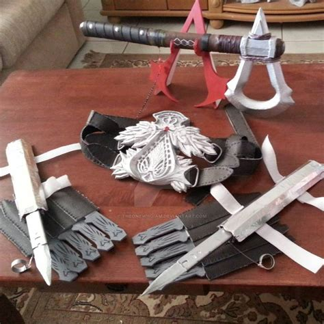 Handmade Props - my assassin s creed handmade props by theonewhoiam on