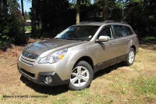 Subaru Outback Options 2014 Subaru Outback Specs Photos Colors Options Prices