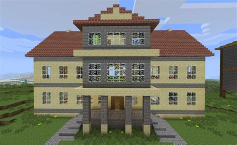Build A Mansion | seven redrunner mansion minecraft project