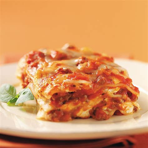 Todays Special Mexican Style Lasagna by Cheese And Swiss Lasagna Recipe Taste Of Home