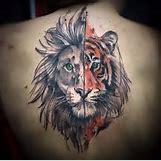 Half Lion Half Tiger Art | 236 x 234 jpeg 11kB