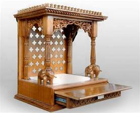 wooden home temple design homecrack