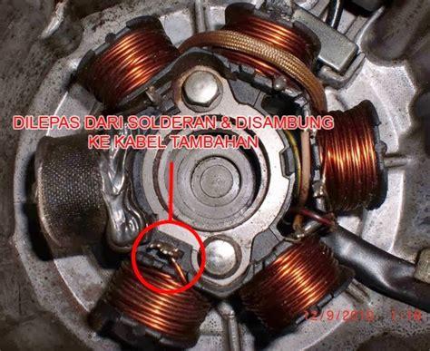 Pengapian Set Vario 125 Acg Stater noer ali irawan cara merubah arus lu motor dari ac ke dc