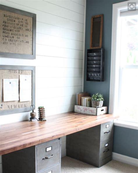 repurpose filing cabinets  durable desk top  wanna