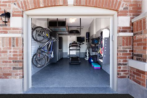 Garage With Living Space how to turn your garage into a fitness room