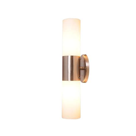home depot bath bar lighting design house eastport 2 light satin nickel indoor bath bar