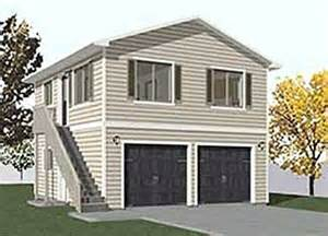 2 Car Garage With Apartment Plans by Garage Plans Two Car Two Story Garage With Apartment