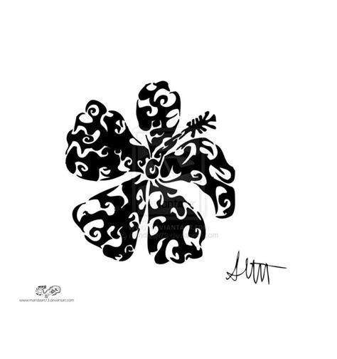 hawaiian tribal flower tattoos free hawaiian flower designs picture 1 tattoos