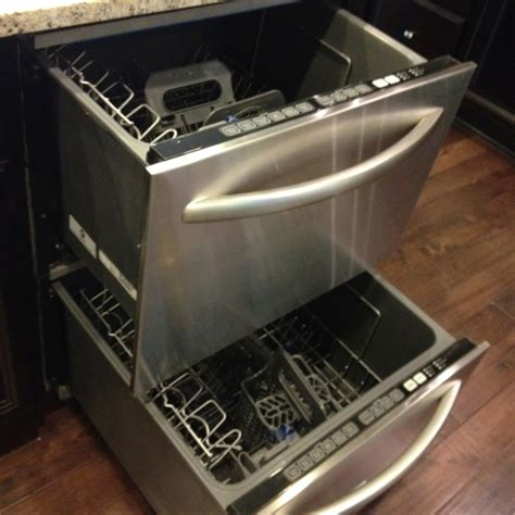 2 Drawer Dish Washer I Want This Drawer Dishwasher For The Home
