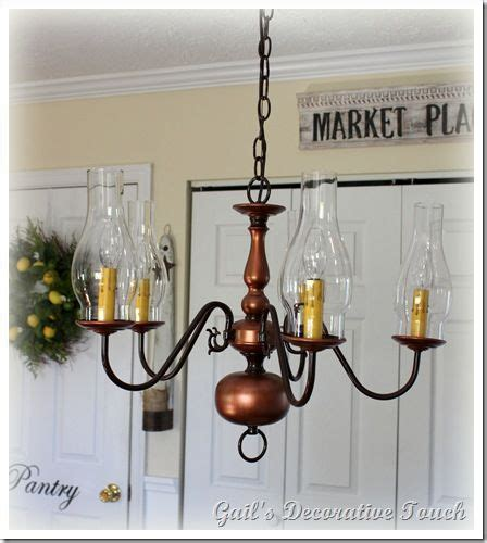 Painting The Old Brass Chandelier Lighting Pinterest Painting Brass Chandelier