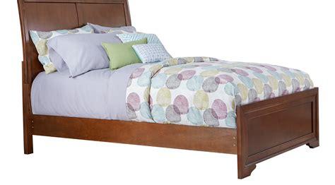 full sleigh bed belcourt jr cherry 3 pc full sleigh bed