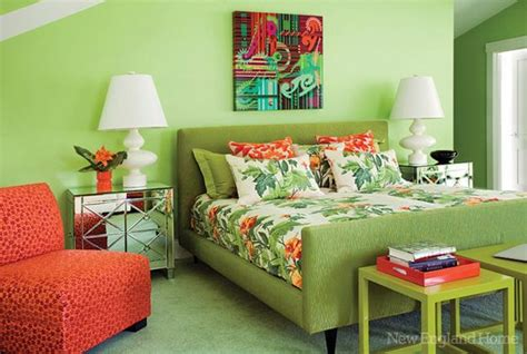 orange and green bedroom 3 blue and green color schemes creating spectacular