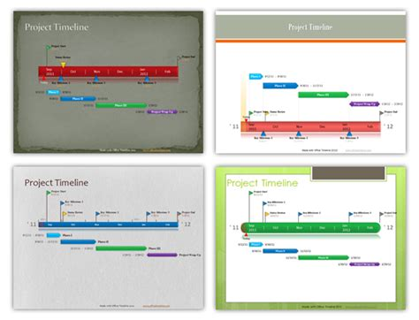 office timeline add on para powerpoint plantillas