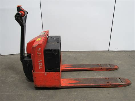 Toyota Electric Pallet Toyota 6hbw20 Electric Pallet Walkie Walk