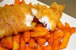 Canton Bed And Breakfast Cod Amp Battered Chips Picture Of Krispies Exmouth