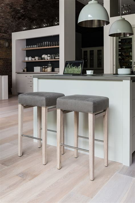 modern bar stools without backs modern kitchen blends industrial flavour with contemporary