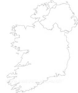 Ie Map Area Outline by Ireland Political Map