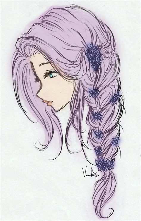 manga girl hairstyles by inasyasyasya art stuff drawing of girls with long hair google search amazing