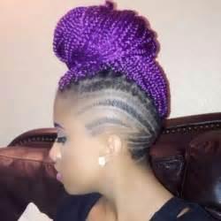 hair to use for box braids purple box braids hair colors ideas