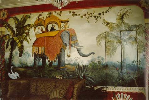 elephant wall mural painted murals fort myers florida martha j dodd