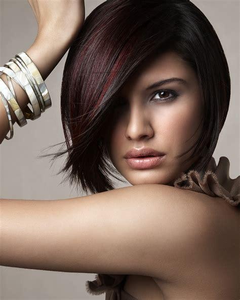 a symetrical asymmetrical bob hairstyles