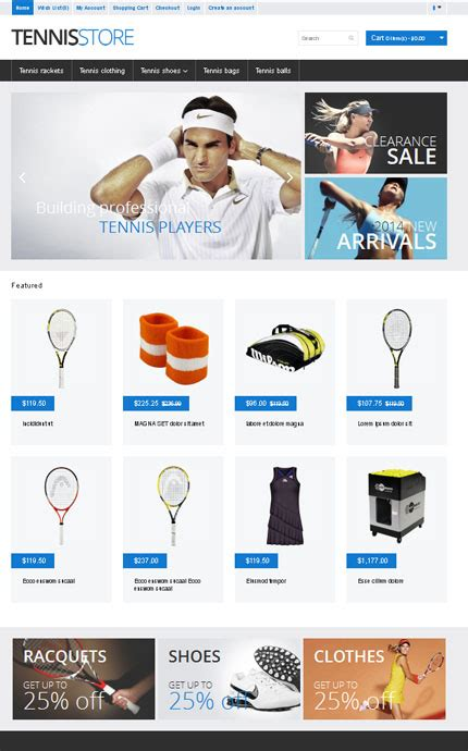 free bootstrap opencart themes free responsive bootstrap vqmod opencart template