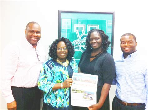 Mba Foundation Jackson Ms by Honorable S Alma Mater Visited By Foundation