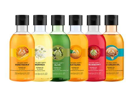 Shower Gel The Shop the shop shower gel 250ml 6 types to choose hermo
