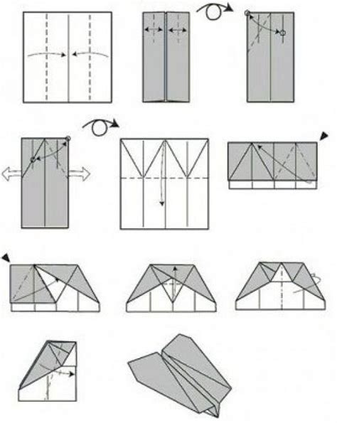 Ways To Make Paper - how to make a paper airplane 11 ways how2db