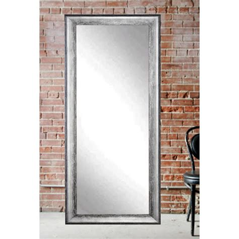 midnight silver decorative floor mirror bm039ts the home