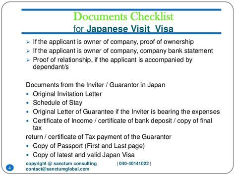 Relationship Proof Letter For Visa Japanese Visit Visa Sanctum Consulting