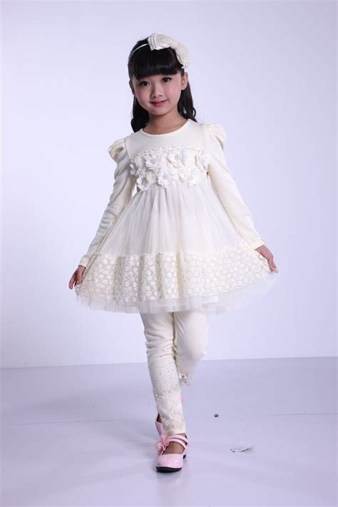 Tya Dress china various color winter baby dresses