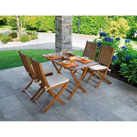 tavoli da giardino in legno prezzi tavolo da giardino in legno d acacia cordova 120x70 cm