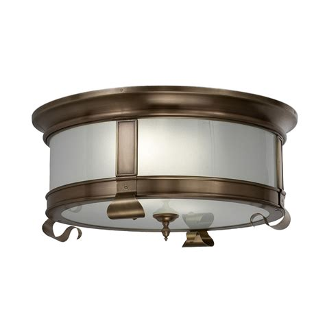 Drum Lighting For Ceilings Colonial Ceiling Drum Crenshaw Lighting